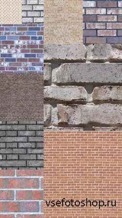 Brickwork Seamless Textures JPG Files