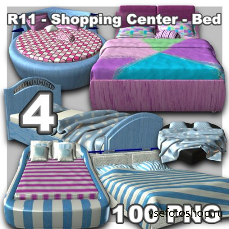 Shopping Center - Bed 4 PNG Files
