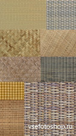 Wicker Textures JPG Files