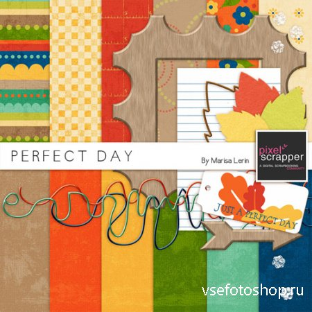 Scrap - Perfect Day PNG and JPG Files