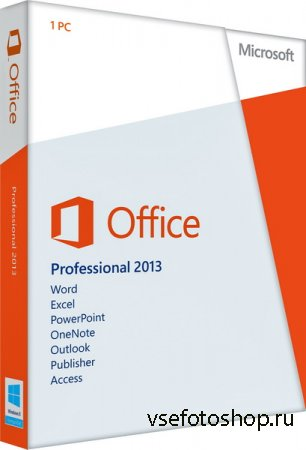 Microsoft Office 2013 SP1 Professional Plus + Visio Pro + Project Pro / Sta ...
