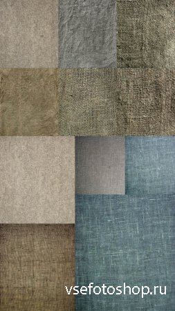 Collection Scrim Texture of Different Colors