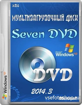 Seven Windows XP Pro SP3 VLK v.2014.03 DVD (x86/RUS/2014)