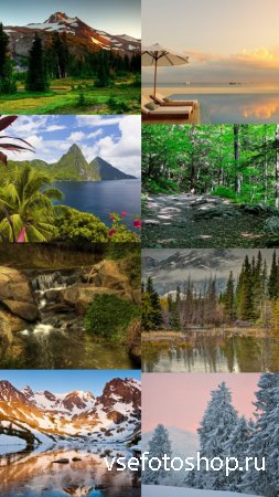 Beautiful Wallpapers of Nature Pack 3