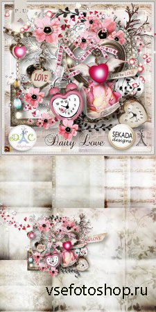 Scrap - Daily Love PNG and JPG Files