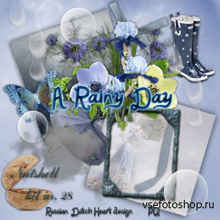 Scrap - A Rainy Day PNG and JPG