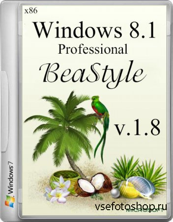 Windows 8.1 Professional x86 Office 2013 BeaStyle v.1.8 (2014/RUS)