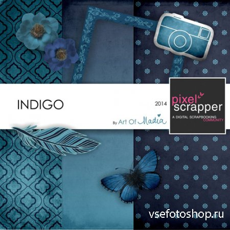Scrap - Indigo PNG and JPG