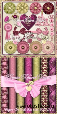 Scrap - Mothers Day Set 2