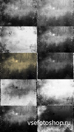 Black and White Texture of Grunge