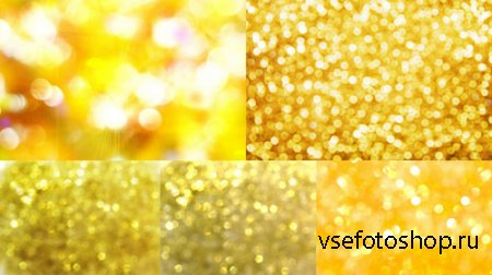 Gold Tinsel set Textures