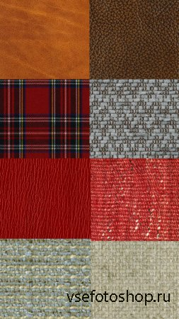 Fabric and Leather Textures JPG