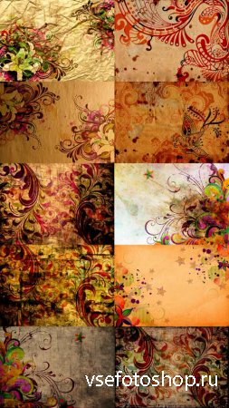 30 Old Pattern Textures JPG