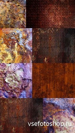 Corrosion Textures Set