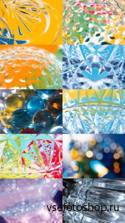 Glass and Crystal Textures JPG Files