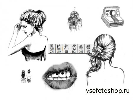 Fine Arts Brushes Vol 351