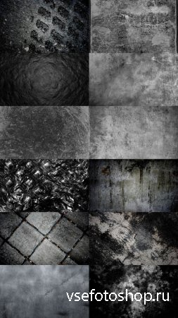 Collection Black and White Textures JPG Set 4