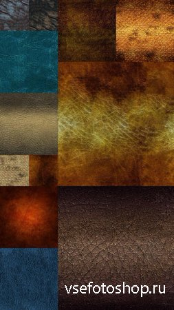 Colorful Leather Textures Set 2 JPG Files