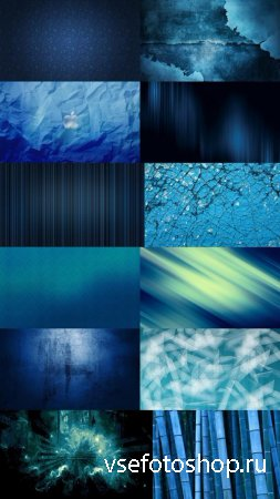 Textures Blue Shades Set 4 JPG Files