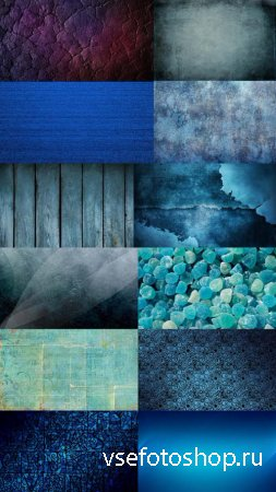 Textures Blue Shades Set 5 JPG Files