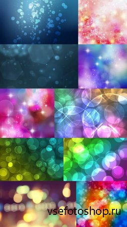 Bokeh Backgrounds Pack 1 JPG Files