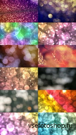 Bokeh Backgrounds Pack 2 JPG Files
