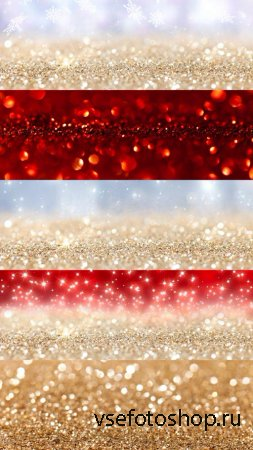 Sparkling Christmas Backgrounds JPG Files