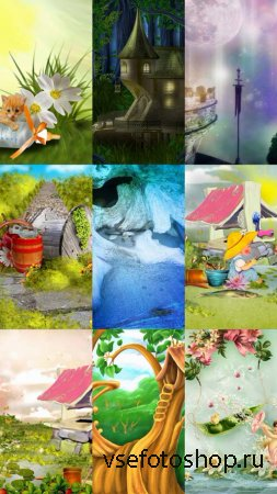 Baby Backgrounds JPG Files