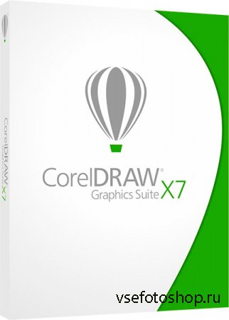 CorelDRAW Graphics Suite X7 17.3.0.722 by Krokoz (2014/RUS/ENG)