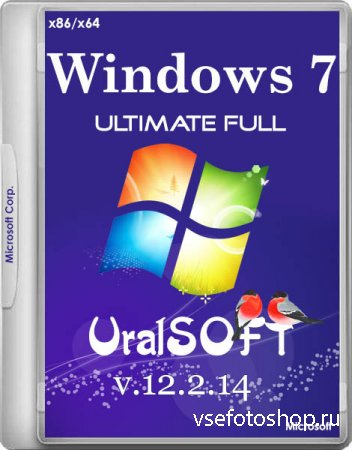 Windows 7 Ultimate SP1 Full UralSOFT v.12.2.14 (x86/x64/RUS/2014)