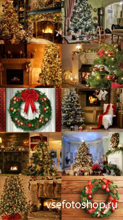Christmas and New Year Background JPG Files Set 7