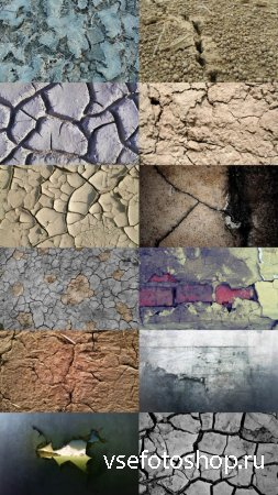 Cracked Textures JPG Files