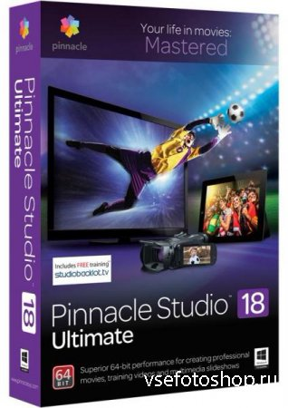 Pinnacle Studio Ultimate 18.5.1.827 + Content + Bonus Content (2015/ML/RUS)