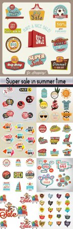 Super Sale in summer time