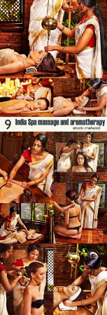 India Spa massage and aromatherapy