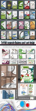 Tri-Fold corporate Business post card design