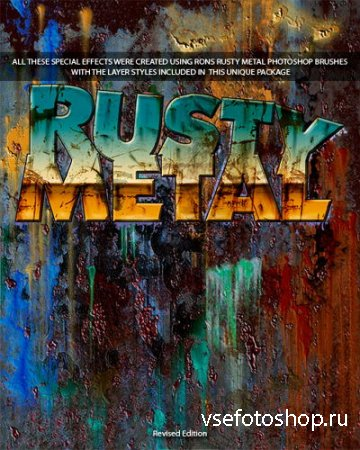 Rons Deviney - Rusty Metal Brushes & Styles