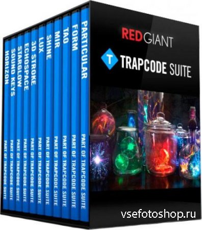 Red Giant Trapcode Suite 14.1.0 RePack by PooShock