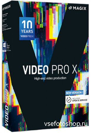 MAGIX Video Pro X10 16.0.1.236 RePack by PooShock