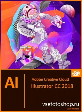 Adobe Illustrator CC 2018 22.1.0.314 RePack by PooShock