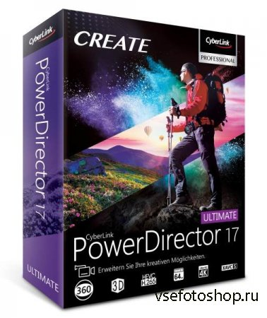 CyberLink PowerDirector 17.0.2126.0 Ultimate RePack by PooShock