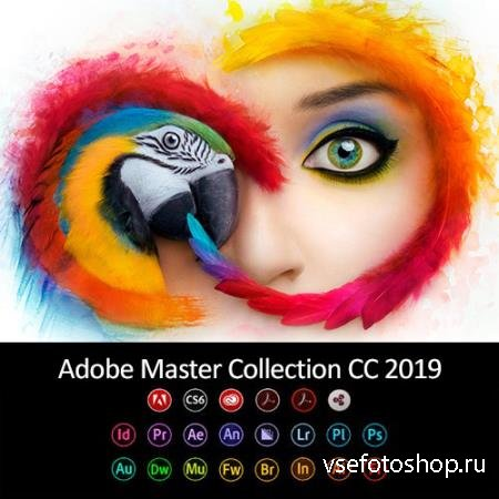 Adobe Master Collection CC 2019 v.2 by m0nkrus