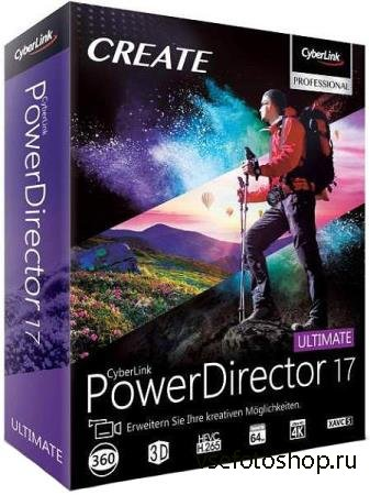 CyberLink PowerDirector Ultimate 17.0.2720.0 + Rus