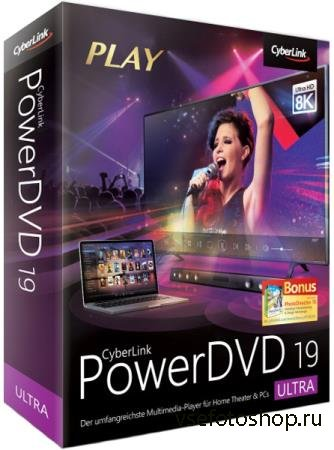 CyberLink PowerDVD Ultra 19.0.1807.62