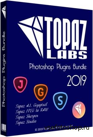 Topaz Photoshop Plugins Bundle 09.2019 + Portable