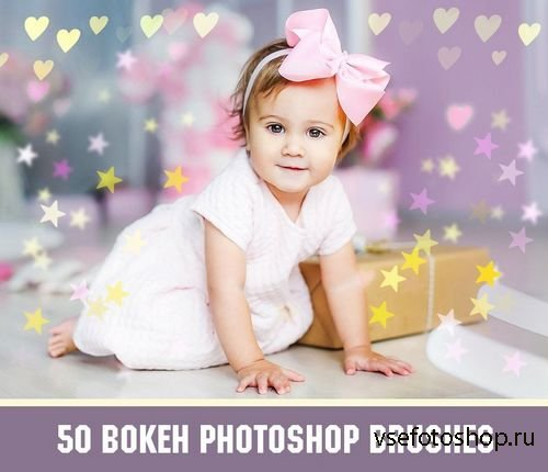 50 Bokeh Photoshop Brushes